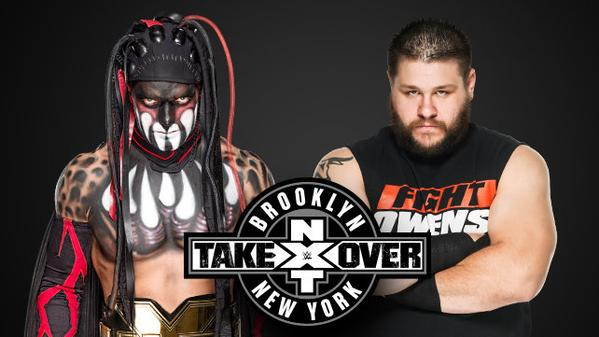 Balor Owens Ladder Match